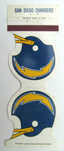 San Diego Chargers 1980 Football Schedule Sports Matchbook Cover Helmet ... - $1.75