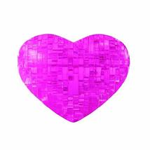 Bepuzzled Original 3D Crystal Puzzle - Heart, Pink - Fun yet challenging... - $9.29