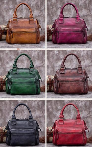 Sale, Fashion Full Grain Leather Messenger Bag, Shoulder Bag, Satchel Bag, Leath image 2