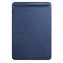 "Genuine Apple Leather Sleeve Case for iPad Pro 10.5"" - Midnight Blue MPU... - $38.38"