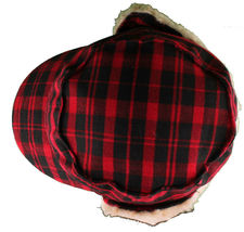 "Christys Crown ""Hunter"" Plaid Faux Shearling Ear Flap Cap Hat Medium/Large NWT image 6"