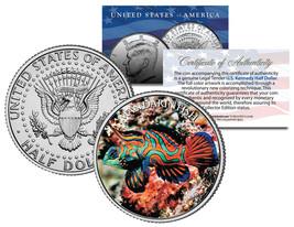 MANDARIN FISH * Fish Series * JFK Kennedy Half Dollar U.S. Colorized Coin - $8.56
