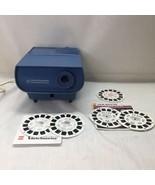 GAF View-Master Model LV-1 Entertainment Projector w/ 5 Reels Dracula King Kong - $29.69