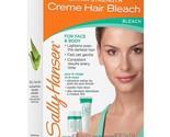 Sally Hansen Extra Strength Creme Hair Bleach For Face & Body, 1 Kit