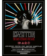 "Led Zeppelin ""The Song Remains The Same"" Movie Stand-Up Display - Jimmy ... - $15.99"