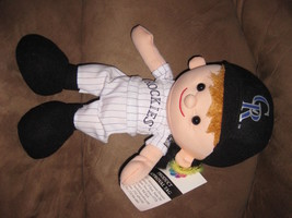 "COLORADO ROCKIES PLAYER PRE-PRODUCTION SAMPLE New Plush 14"" RARE PROMO T... - $59.99"