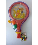Winnie The Pooh Tigger Eyeore Rabbit Ping Pong Paddle Ball Set New Play Toy - $9.49