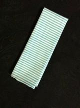 Tommy Hilfiger Hommes Neuf Bleu 100% Coton Solide Poche Carré avec Blanc... - $27.69