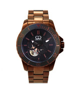 Curtis & Co Big Time Royale 45mm Men's Automatic Watch Rose Gold Case/Bl... - $995.00