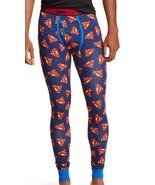 Superman Cool Johns Long Underwear S 28 30 Small NEW Lounge Sleep Pants - $18.00
