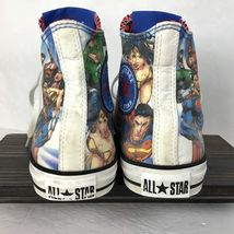 Justice League Converse Mens 8 Womens 10 Chuck Taylor Superman Batman Flash  image 6