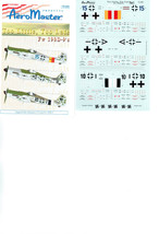 AEROMASTER   1/72  (72-203)  TOO LITTLE, TOO LATE  FW 190'D-9'S - $9.48