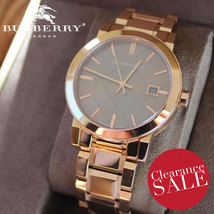 Burberry BU9005 The City Rose Gold  38mm - RRP 795 USD - 2 Years Warranty - $298.00