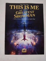 The Greatest Showman Sheet Music Score Signed Benj Pasek Justin Paul Promo - $49.50