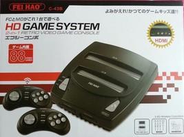 HD Retro Nintendo NES/FC & Sega Genesis Twin Console - HDMI Output - $120.87