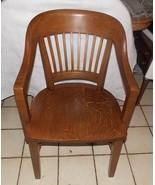 Gunlocke Quartersawn Oak Armchair / Courthouse Chair  (BM) - $399.00
