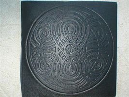 "22""x22"" Celtic Garden Path Stepping Stone Making Supply Kit & Mold FREE USA SHIP image 3"