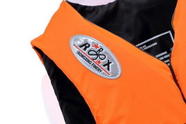 Portable Waterproof Oxford Clothes Life Jacket Size XL Orange - $21.21