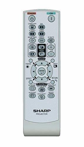 Sharp RRMCGA662WJSA REMOTE CONTROL FOR PG-F212X-L