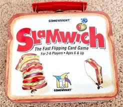 Slamwich Game 10th Anniversary Collectors Edition Tin Fast Flipping Card... - $14.78