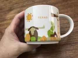 Starbucks Coffee Mug Texas You Are Here Collection Mint 14 oz - $15.38