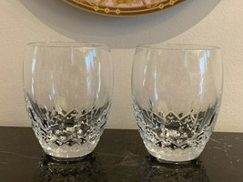 "Waterford Lismore Nouveau Tumblers 4 3/8"" Set of 2 - $119.00"