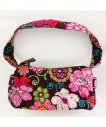 Vera Bradley Retired 2009 Mod Floral Pink Pattern Small Satchel Purse - $24.09