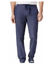 $90 Tommy Hilfiger Men's Art Jogger Pants, Navy, Size XL - $49.49