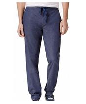 $90 Tommy Hilfiger Men's Art Jogger Pants, Navy, Size XL - $49.49