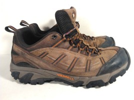MERRELL MEN'S HIKING TRAIL BOOTS SHOES VIBRAM SOLE EUR 43, 9.5 US BROWN ... - $29.95