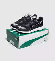 Puma Mens RS-100 Trainers Black/White Sneakers - $75.49