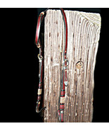 Fancy Gail Hought Vintage Braided Vaquero Headstall With Vogt Sterling S... - $1,600.00