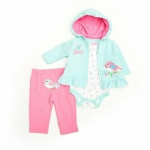 Baby Girls Size 6-9 Months Buster Brown Too Sweet Hoodie Set B640 - $12.00