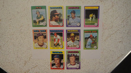 1975 Topps Mini (Parallel)..Lot of 10(1)...VG++ or better Condition...Look!! - $10.30