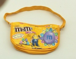 TerraCycle Upcycled Yellow M & M Easter Candy Bag Recycled Purse - $14.99