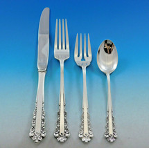 Belle Meade by Lunt Sterling Silver Flatware Set for 12 Service 56 pieces - $3,350.00