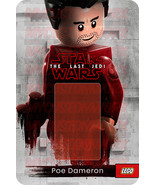 Star Wars Poe The Last Jedi Custom Lego Card Back w/Blister - No Minifigure - $5.00