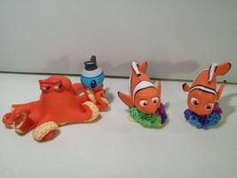 Lot Of 3 Disney Store Finding Dory Pvc Figures Nemo Marlin & Hank Octopus - $13.92