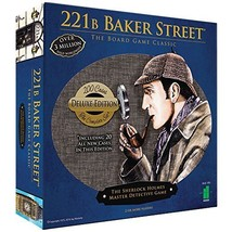 Deluxe 221B Baker Street Board Game - 200 Intriguing Adventures 2-6 Players - $47.42