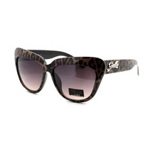 Womens Fashion Sunglasses Oversized Square Cateye Leopard Print UV 400 - $9.95