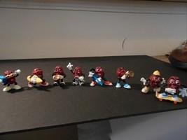 "California Raisins 2"" 1988 Applause 8 pc figurine micro guitar trumpet s... - $13.99"