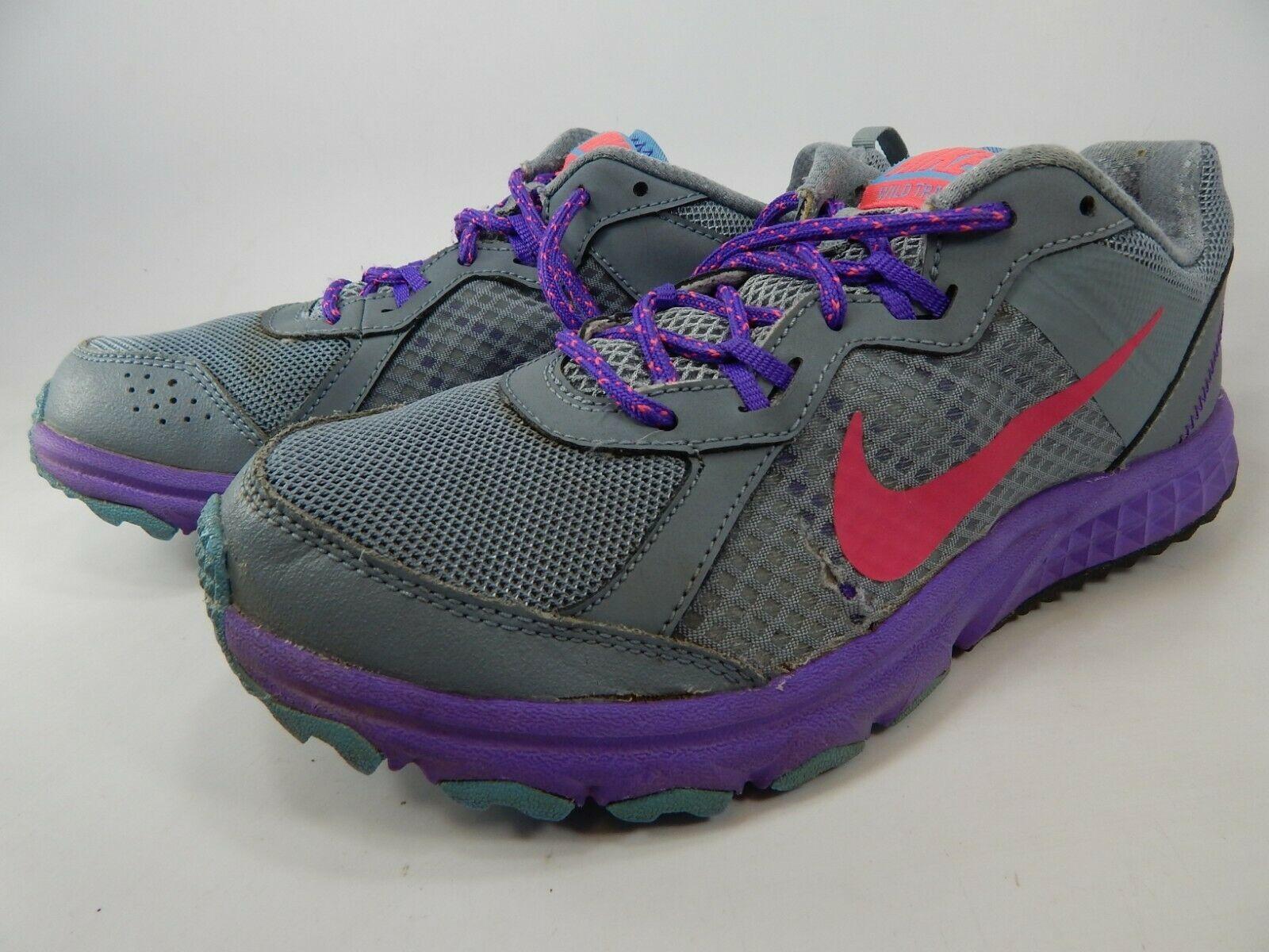 big sale bc612 8551d Nike Wild Trail Size 9 M (B) EU 40.5 Women s Trail Running Shoes Gray