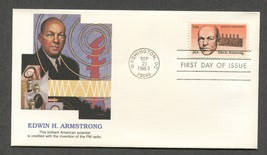Sep 21 1983 FDC Edwin Armstrong Stamp #2056 Fleetwood - $3.99