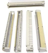 LOT OF 5 SIEMENS 1NEZ-811-0200 PLC TERMINAL STRIPS 1NEZ8110200