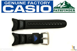 CASIO SPF-40 Sea Pathfinder Triple Sensor Original Black Rubber Watch Band - $36.95