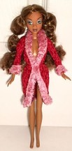 Barbie My Scene Madison Westley Doll AA African American Red Robe Curly ... - $17.99