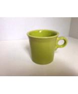 Fiestaware Lemon Grass Coffee Mug Cup ring handle Fiesta Homer Laughlin - $4.99