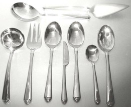 Gorham Crown Tip 49 Piece Flatware Service For 8 Stainless 18/10 New - $278.90