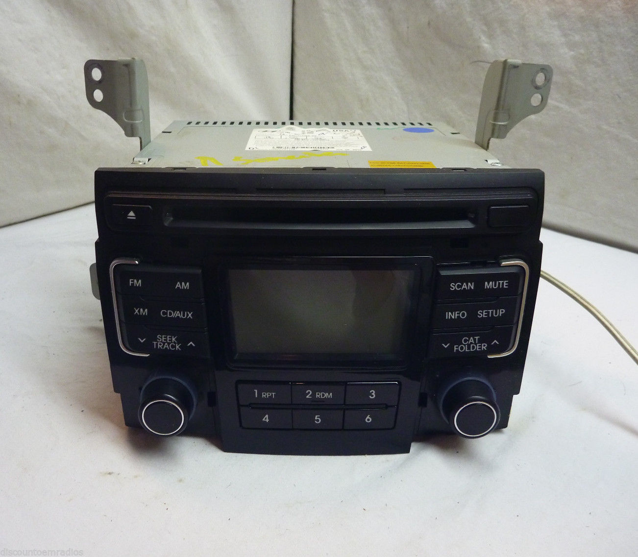 11 12 Hyundai Sonata Radio Cd Mp3 Player 96180-3Q000 FG41