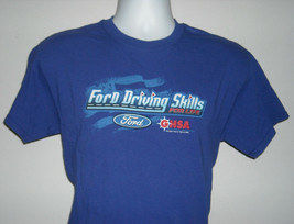 Mens Ford Driving School For Life T Shirt 2015 Summer Tour Medium - $18.76